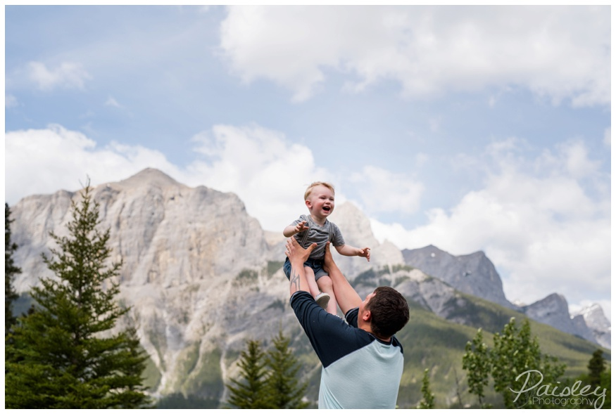 Rundle Mountain Family Photography Canmore