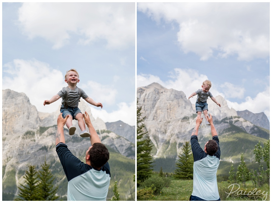 Quarry Lake Canmore Family Photography