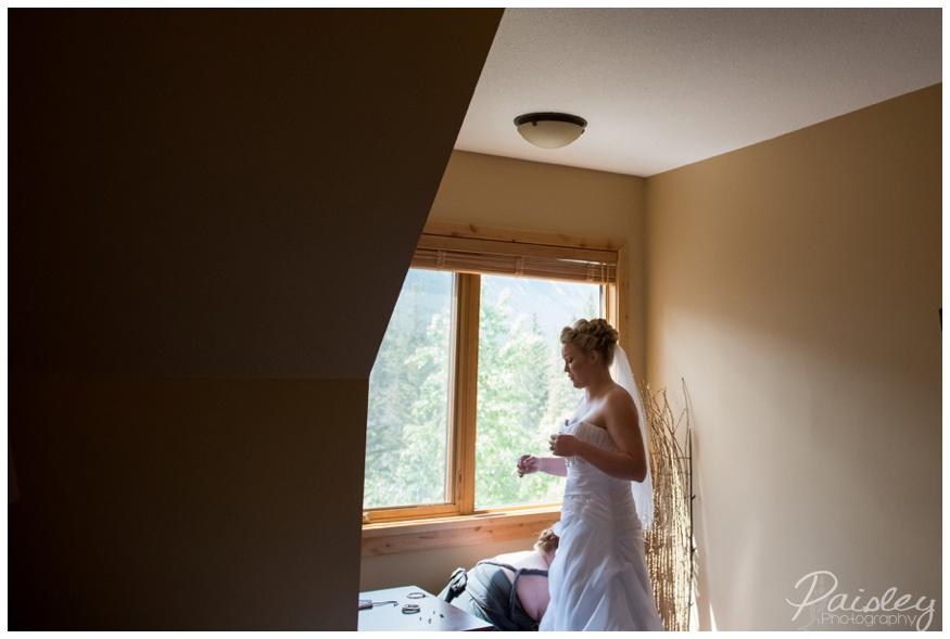 Calgary Spring Wedding - Impression Wedding Gown