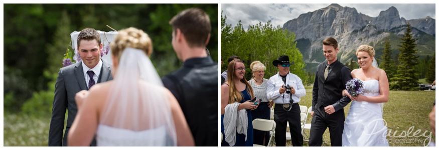 Rocky Mountain Wedding Ceremony
