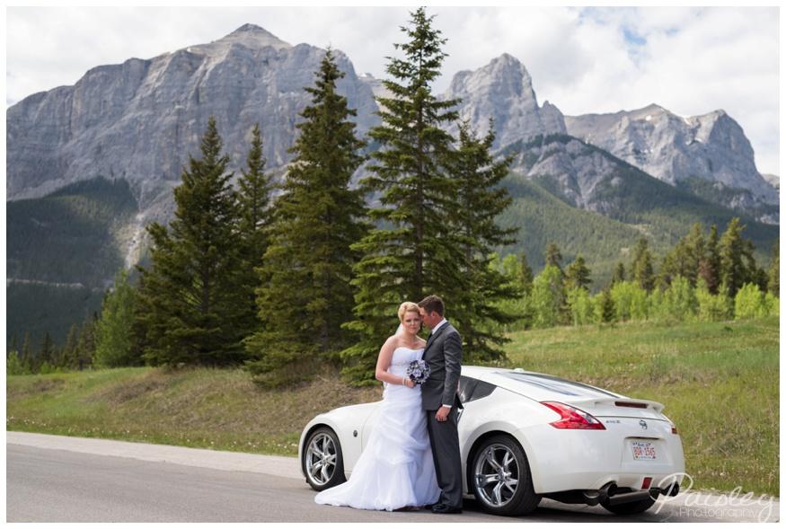 Rundle Mountain Wedding Photography