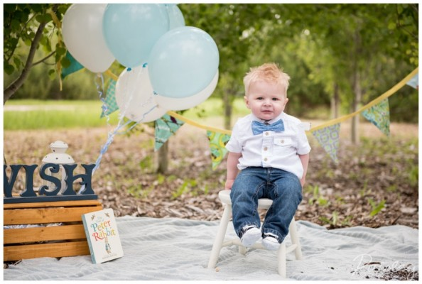 Noah's First Birthday ~ Calgary Children's Photographer