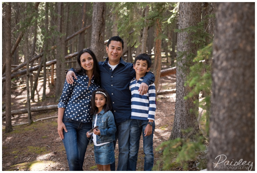 Family Photography Two Jack Lake Banff Alberta