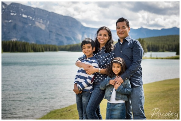 Two Jack Lake Family Photography ~ Pradhan/Shrestha Family Session