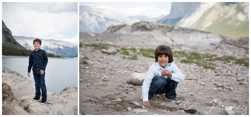 Mountain Family Photos Banff Alberta