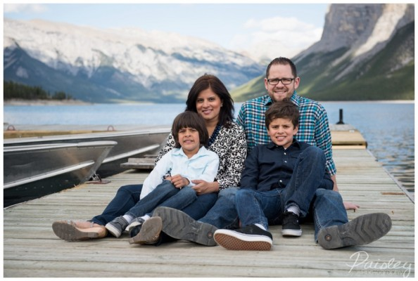 Lake Minnewanka Family Photography ~ Damaske Family Session