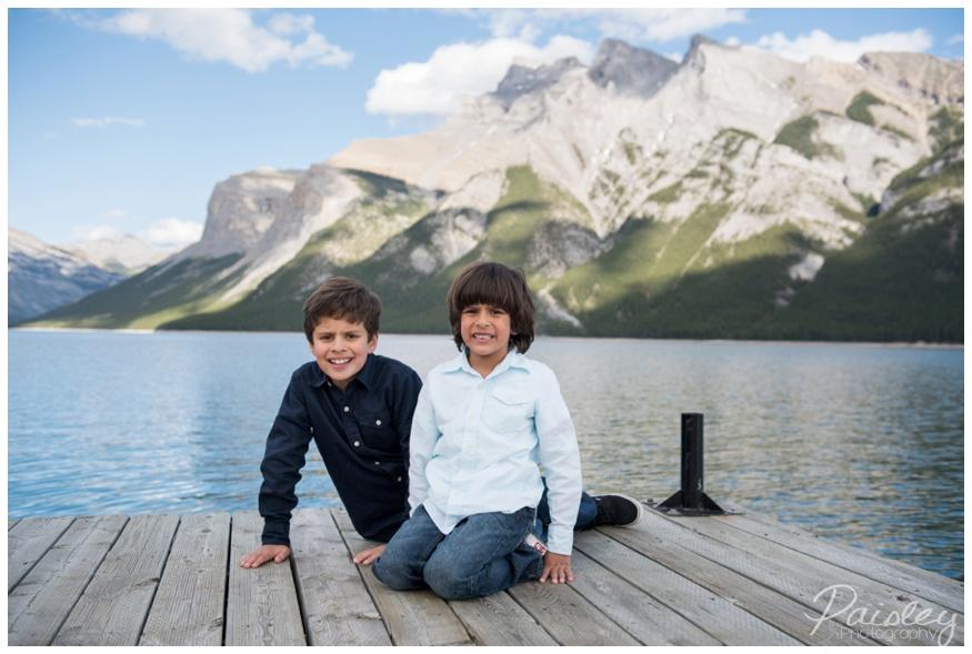 Banff Rocky Mountain Family Photos