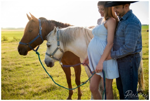 Airdrie Maternity Photography ~ The Fuller's Farm Maternity