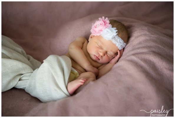 Cochrane at Home Newborn Photography ~ Baby Girl Riley
