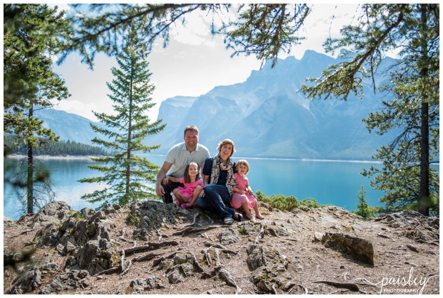 Mountain Family Photography Banff Alberta