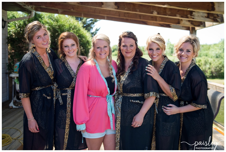 Bridesmaids In Robes Wedding Photography