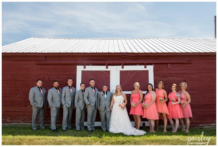 Southern Alberta Farm Wedding