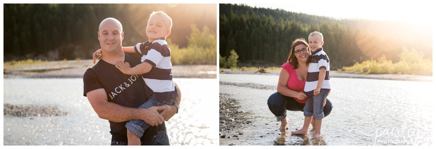 Calgary River Family Photography
