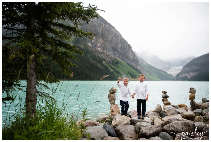 Chateau Lake Louise Family Photography