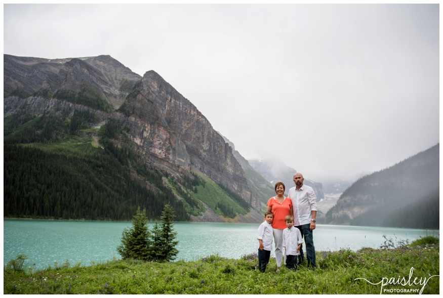 Banff Mountain Family Photographer