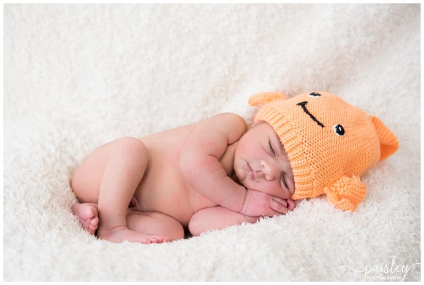 Newborn Baby Girl - Calgary Newborn Photographer