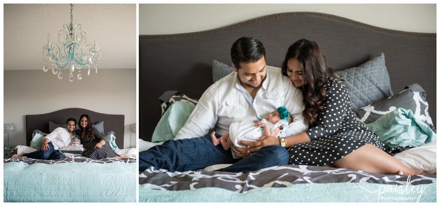 IN Home Newborn Photos Calgary