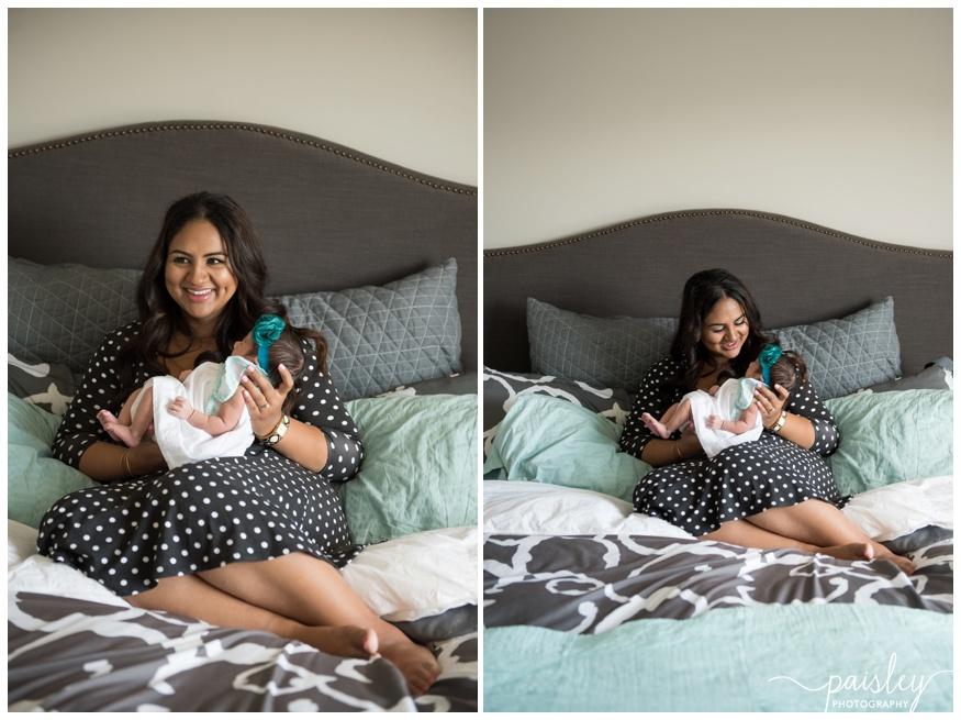 Mom & Baby Newborn Photography