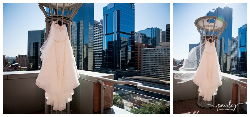 Water Wedding Dress - Urban Wedding Photography