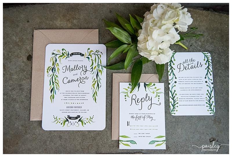 Paper Divas Wedding Invitation