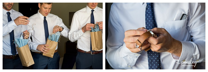 Nixon Watch Wedding Gift- Calgary Wedding