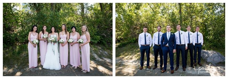 Bridal Party Wedding Photography Calgary
