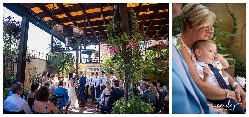 Bonterra Trattoria Wedding Ceremony
