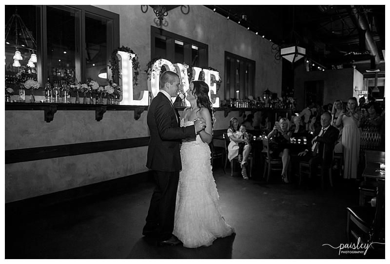 First Dance Wedding Photography Calgary