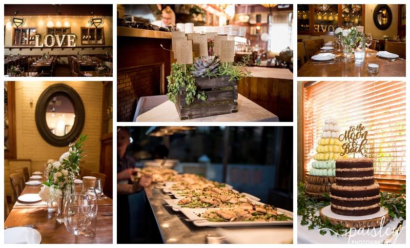 Bonterra Trattoria Restaurant Wedding Calgary Alberta