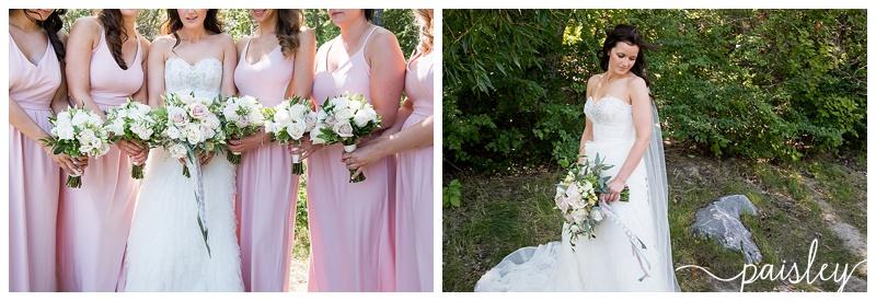 Pink Bridesmaid Dress's - Calgary Wedding Photographer