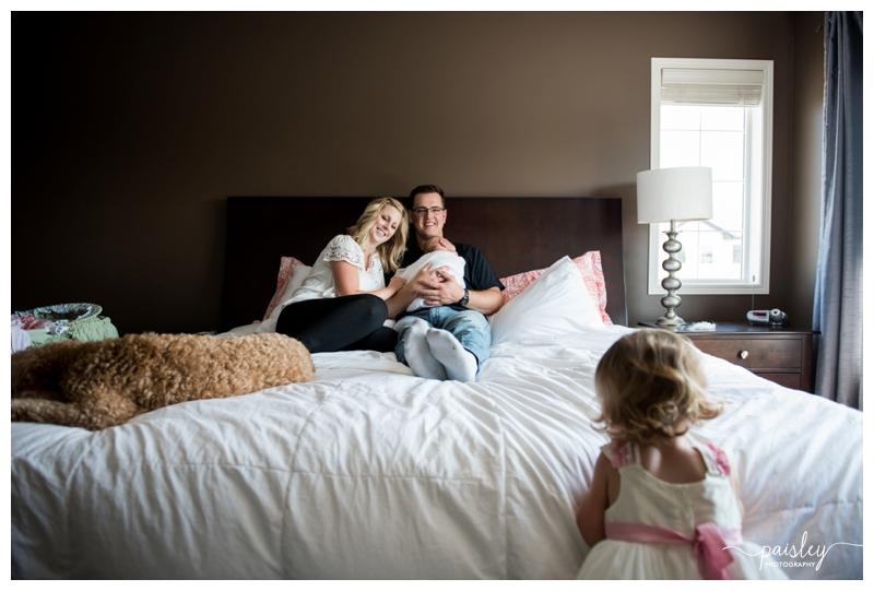 At Home Family Photography Calgary