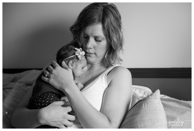 Mom & Basby newborn Photography