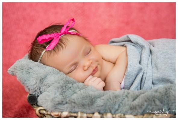 Calgary Newborn Photography ~ Baby Victoria