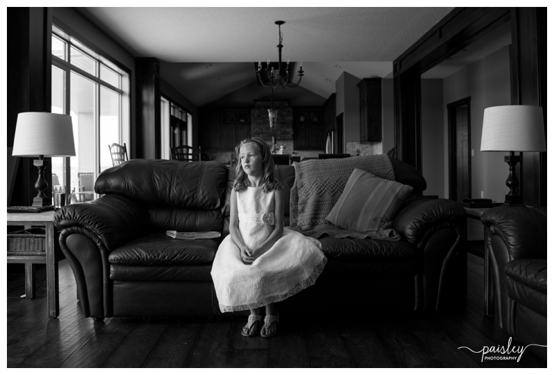 Flower Girl Calgary Wedding Photos