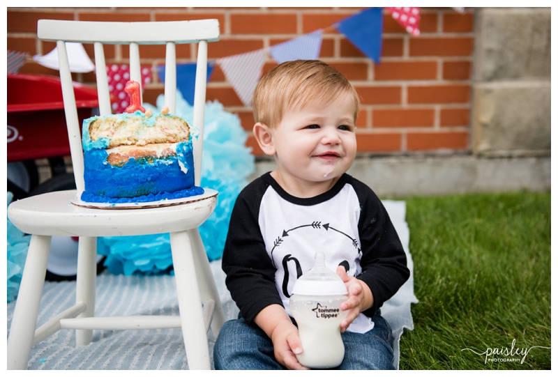 One Year Old Birthday Photography