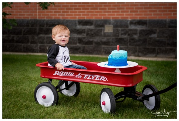 Calgary First Birthday Photographer ~ Sage is ONE!