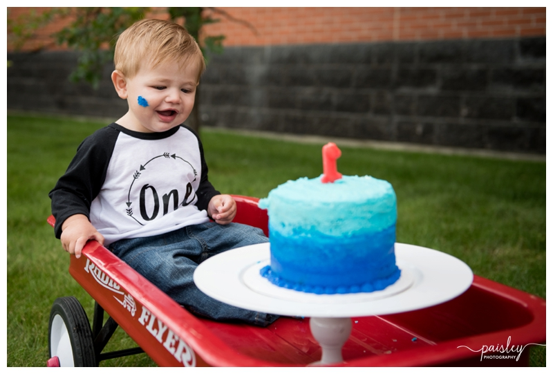 Calgary First Birthday Photographer
