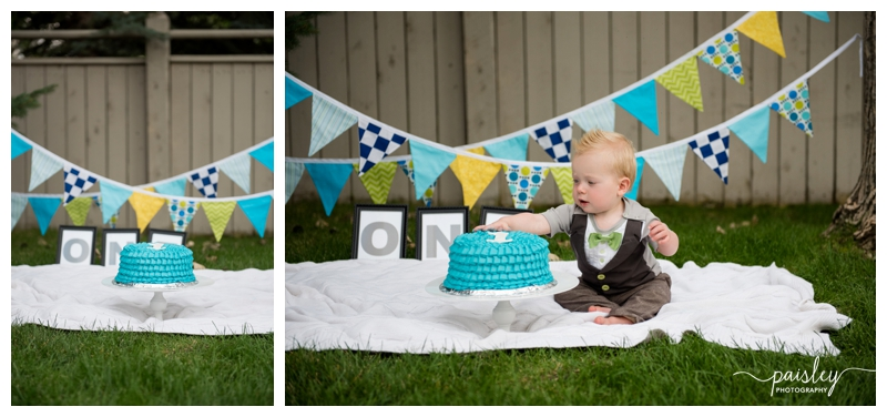 First Birthday Photography Calgary