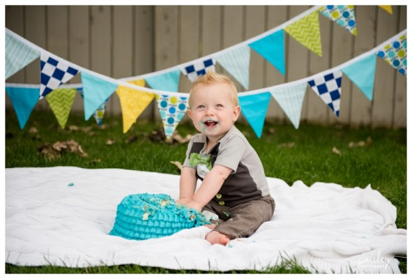 Calgary Cake Smash Photographer ~ Lachie is ONE!