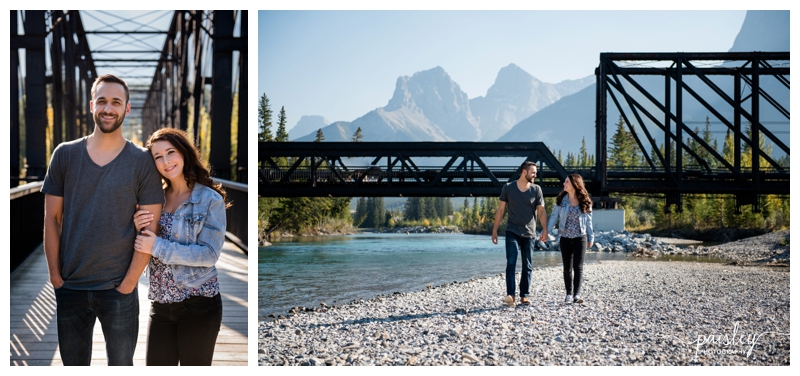 Rocky Mountain Engagement Photography Canmore