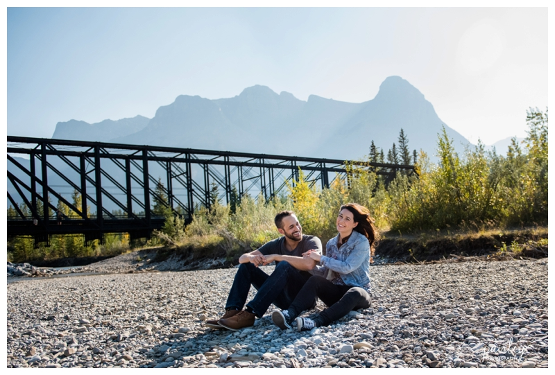 Mountain Engagement Photography Canmore Alberta
