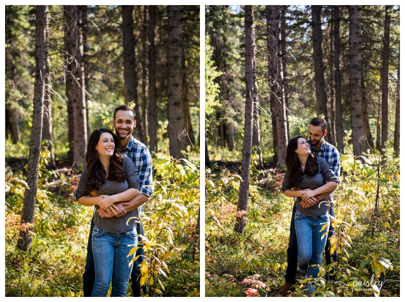 Calgary Fall Engagement Photography