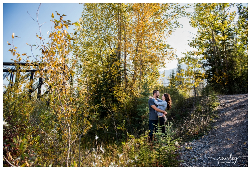 Fall Engagement Photography Canmore Alberta