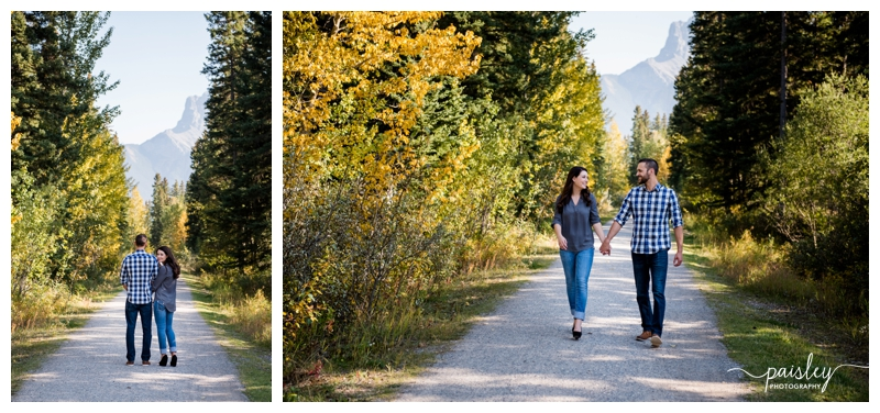 Canmore Engagement Session Photography