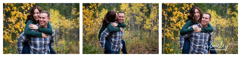 Fall Kananaskis Engagement Photos