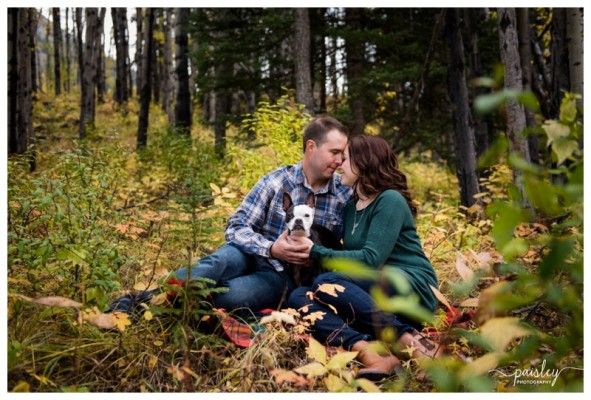 Barrier Lake Engagement Photography ~ Paul & Jennifer Engaged!
