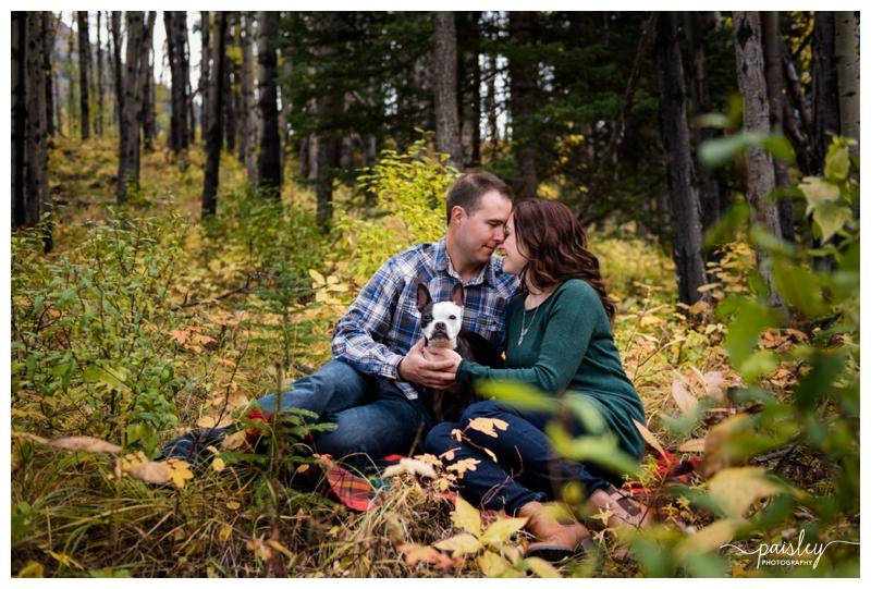 Kananaskis Engagement Photography