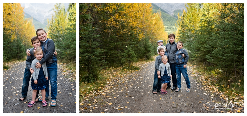 Fall Family Photography Canmore