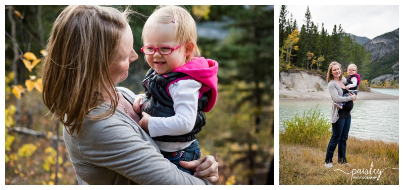 Barrier Lake Family Photography