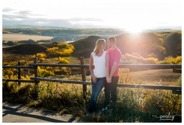 Glenbow Ranche Provincial Park, Cochrane Engagement Session ~ Mike + DJ